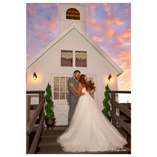 Sunset Wedding in Cave Creek
